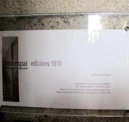 MX Espai 1010 Art Contemporani