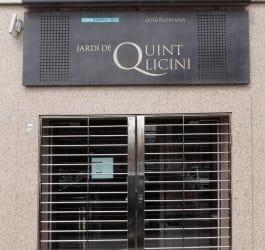 Museu de Badalona Jardí de Quint Licini