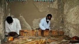 """Foto Descubren en Luxor una tumba """"intacta"""" de más de 3.000 años de antigüedad"""