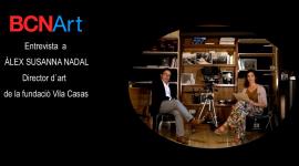 Foto Àlex Susanna Nadal, director d'art de la Fundació Vila Casas entrevistat per BCNArt