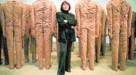 Foto Magdalena Abakanowicz, la gran escultora polaca