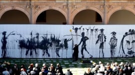 Foto Miquel Barceló instala en Salamanca su Arca de Noé