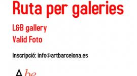 Foto ArtBarcelona ens comunica la Ruta per Galeries VALID FOTO I L&B GALLERY