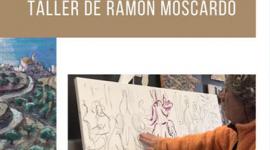 Foto LA SALA PARÉS  DE BARCELONA  PRESENTA UN VIDEO DE COMO CONTINUA TRABAJANDO EL ARTISTA RAMON MOSCARDÓ EN SU ESTUDIO DE CADAQUÉS