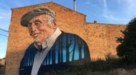 Foto La historia del pequeño pueblo que tiene más grafitis que calles
