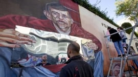 Foto El drama de los sintecho, en un mural que interpela al espectador
