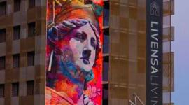 Foto PichiAvo finaliza la segunda parte de su intervención artística en Barcelona