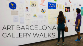 Foto ART BARCELONA GALLERY WALKS