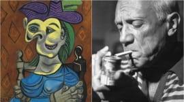 Foto Mujer sentada, vestido azul', de Picasso, vendido por casi 41 millones de euros