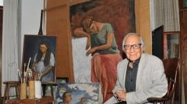Foto Fallece a los 90 años el pintor Arturo García Bustos, discípulo de Frida Kahlo