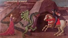 Foto El dios egipcio que se esconde tras sant Jordi