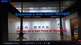 Foto BCNArt entrevista a Joan Anton Maragall, director de la Sala Parés de Barcelona