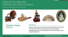 Foto Museu Frederic Marès. Objectes insòlits del Gabinet del col.leccionista. Una gran col.lecció de col.leccions