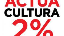 Foto ACTUA CULTURA 2% LES EMPRESES CULTURALS DE CATALUNYA DEMANEN QUE UN 2% DEL PRESSUPOST DE LA GENERALITAT VAGI AL DEPARTAMENT DE CULTURA. EQUIPARANTSE AMB LA MITJANA EUROPEA.ACTUALMENT ÉS DEL 0,65%